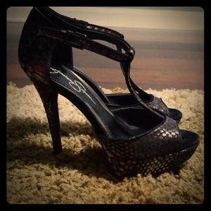 Jessica Simpson platform 5 inch heel